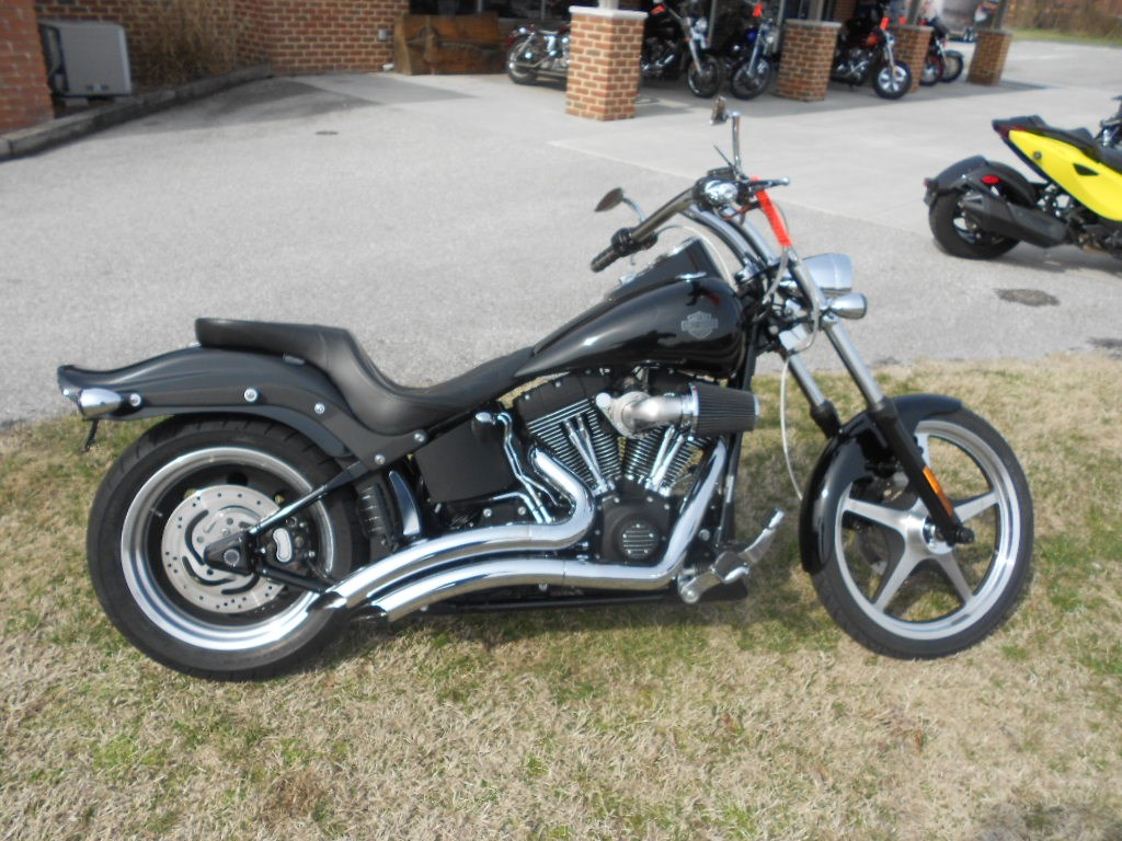2007 Harley-Davidson® FXSTB Softail® Night Train® – $10900