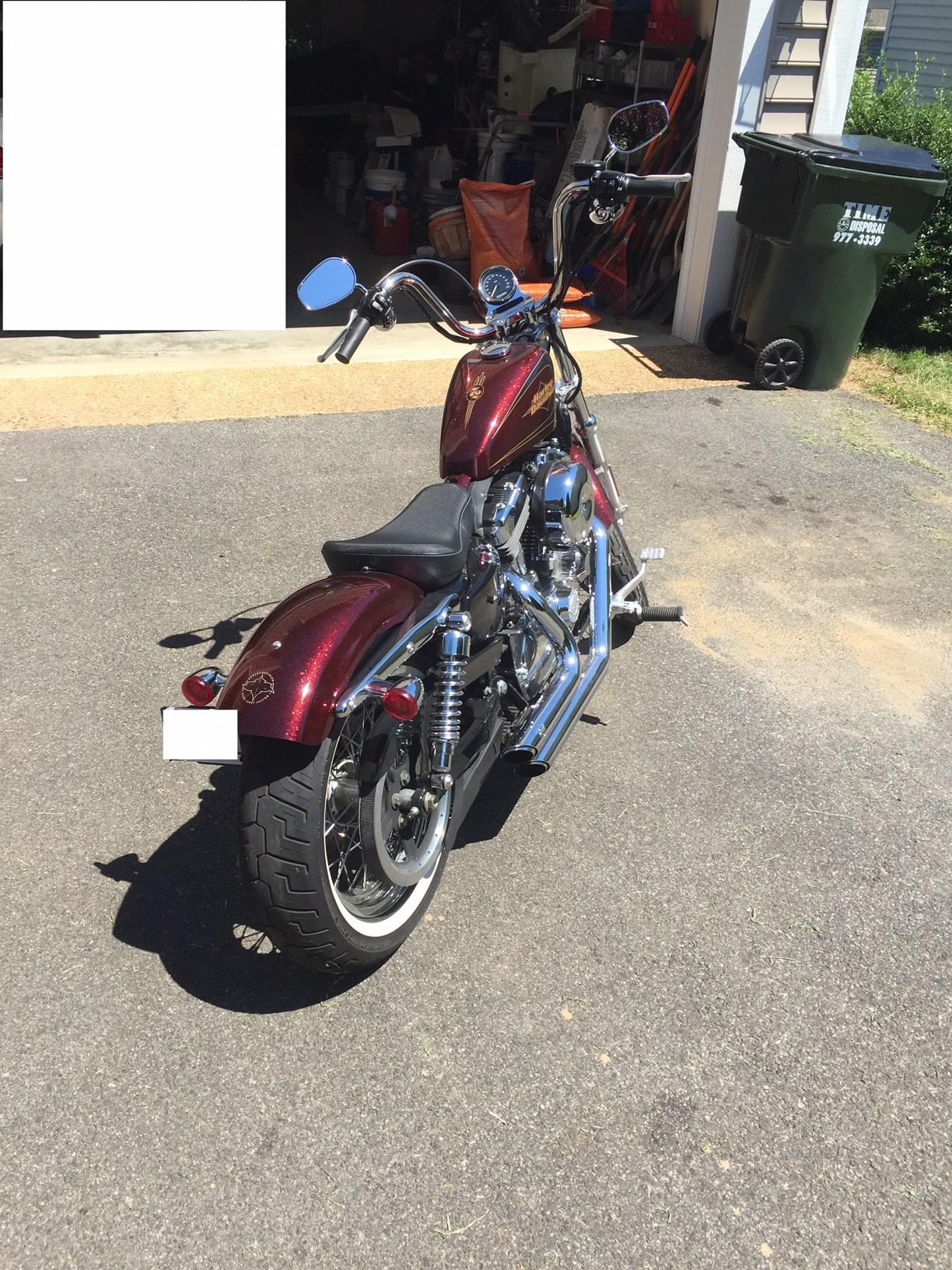 Used Harley Davidson Sportster Seventy Two
