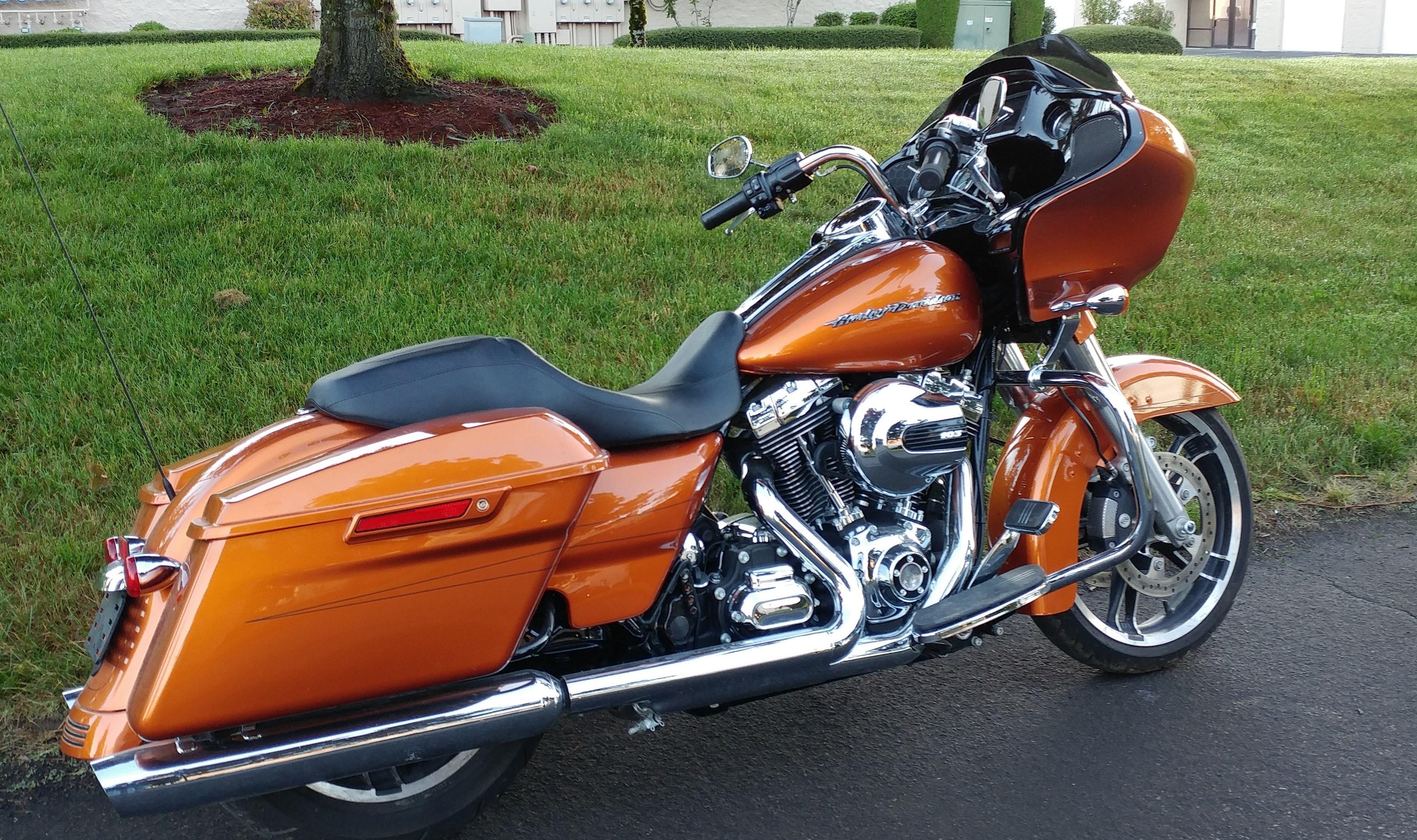 harley davidson fltrxs road glide special amber whiskey hillsboro oregon