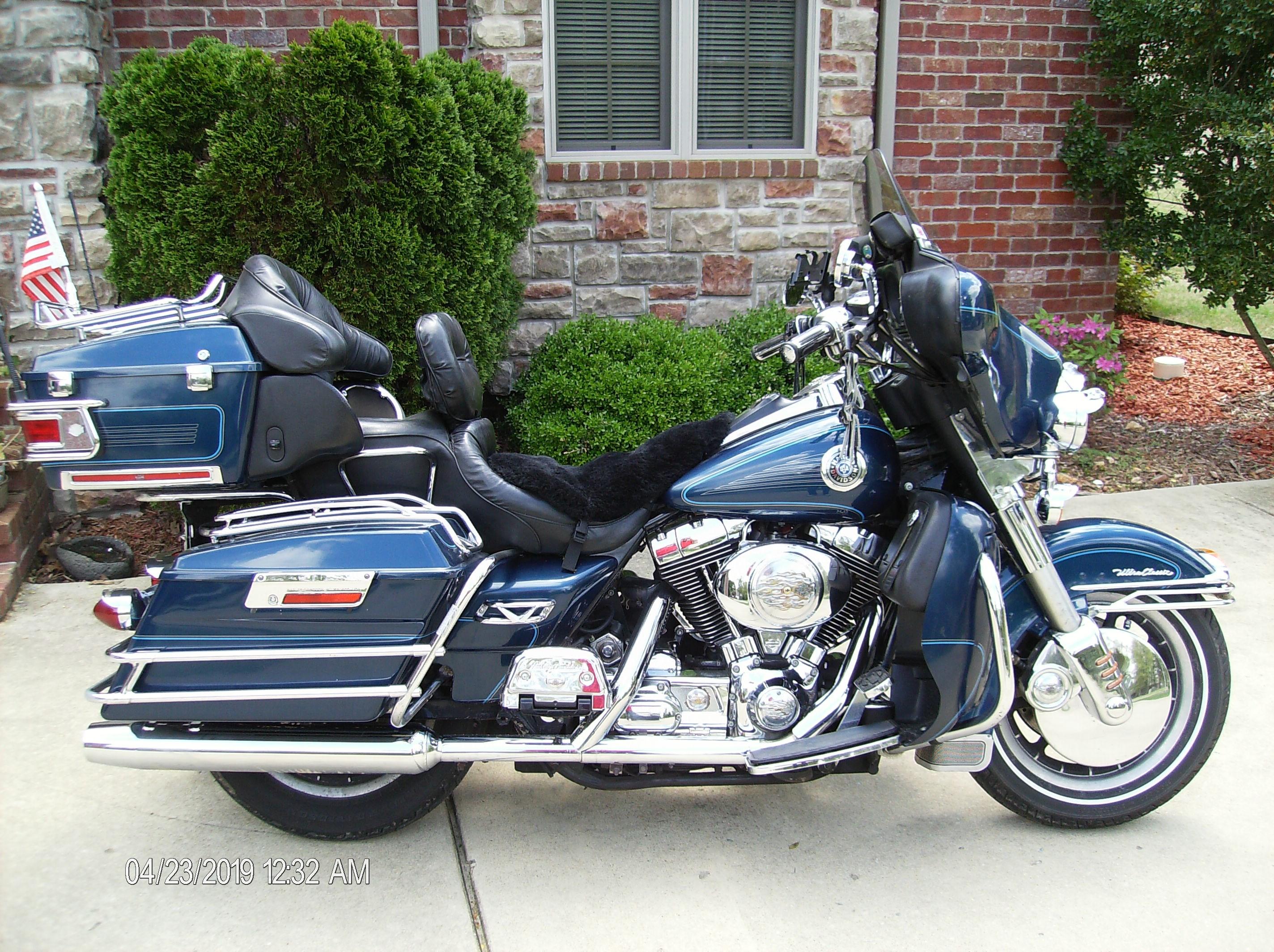 2000 Harley I Electra Glide U00ae Ultra Classic U00ae  Blue   Mountain Home  Arkansas
