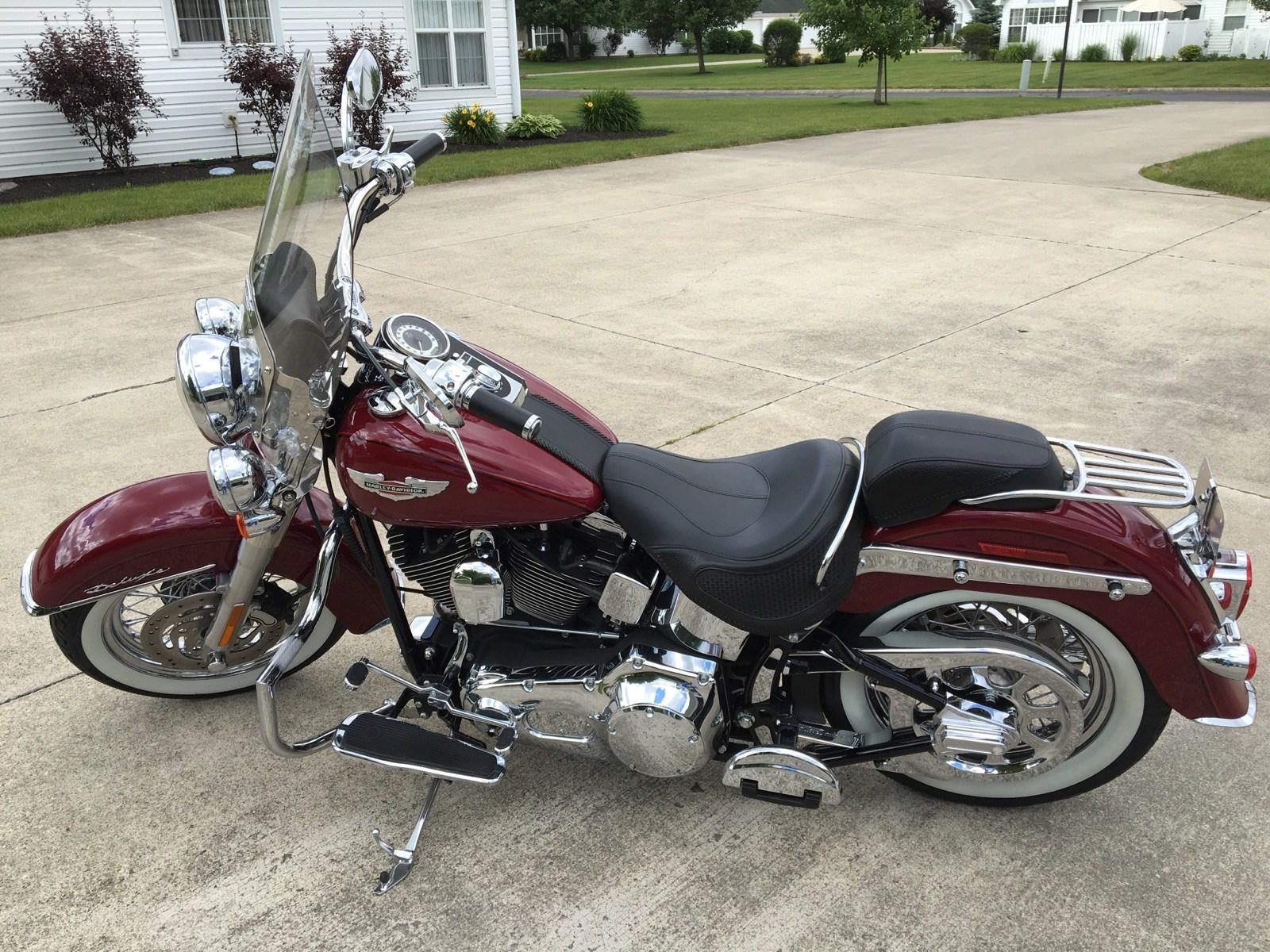 Harley Softail Motorcycles For Sale Ga >> 2006 Harley-Davidson® FLSTN/I Softail® Deluxe (Wine), Muncie, Indiana (740255) | ChopperExchange