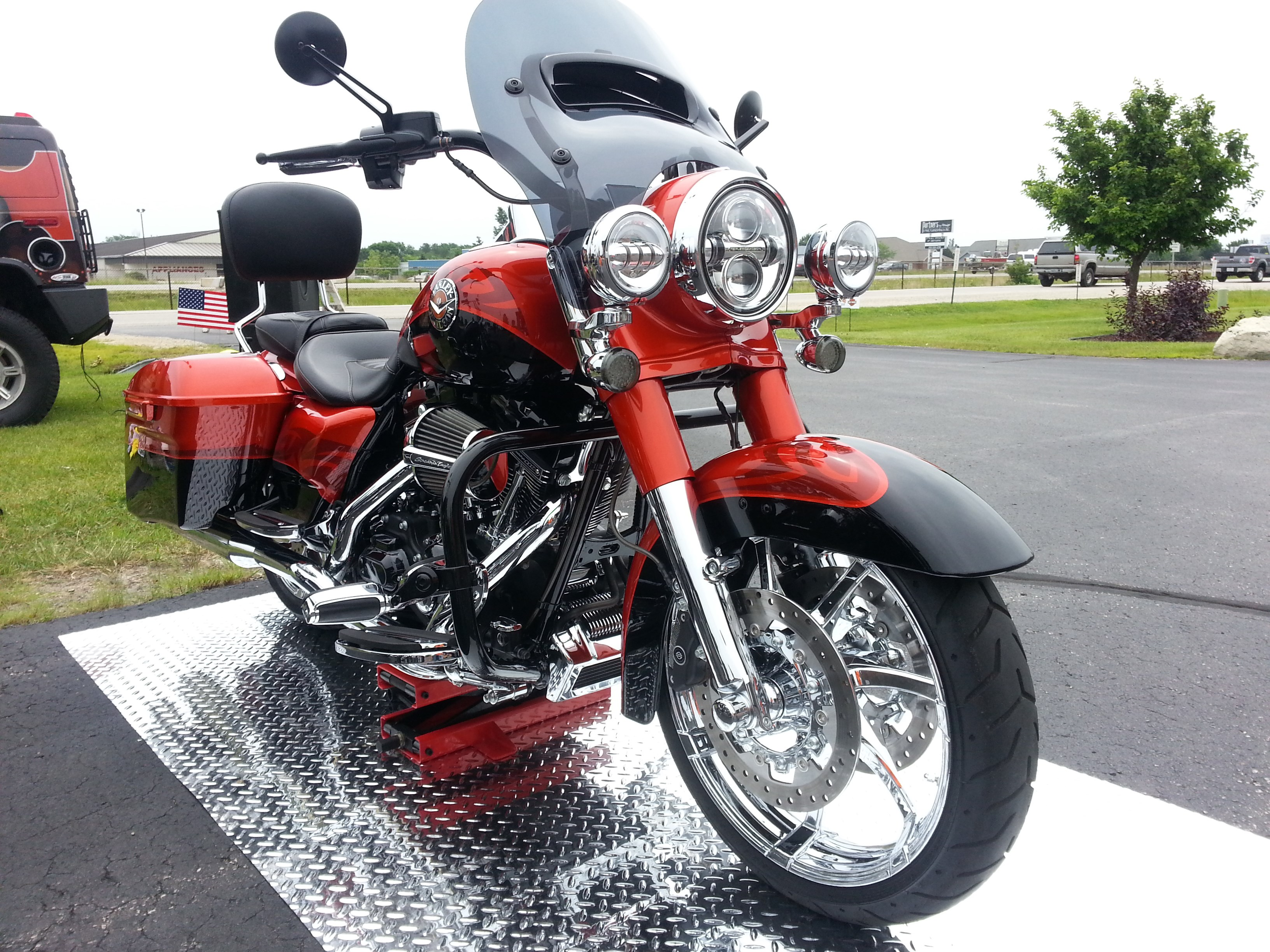 2014 Harley Davidson 174 Flhrse5 Cvo Road King 174 Tribal