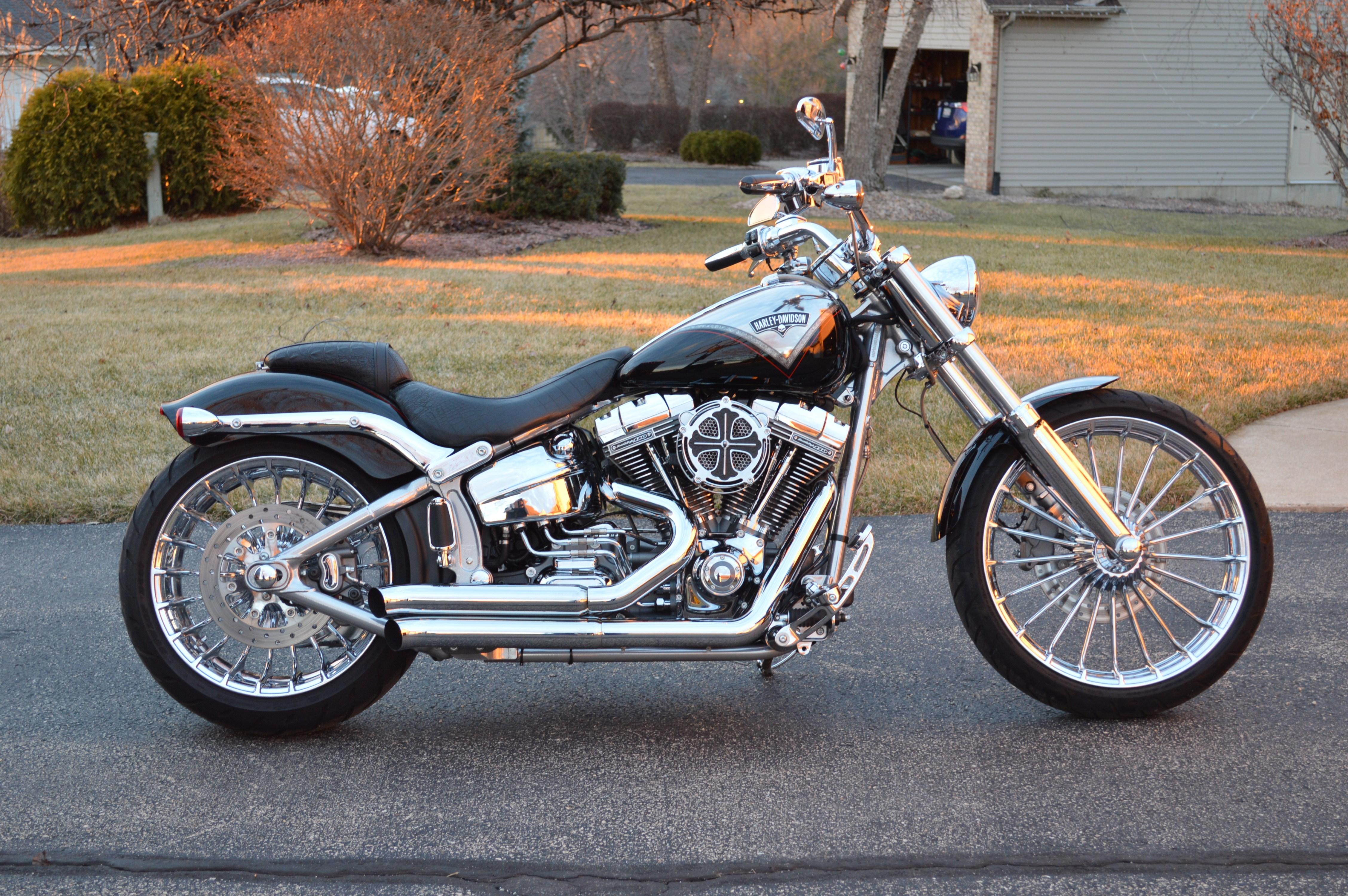 harley davidson cvo breakout for sale 109 bikes page 1 chopperexchange. Black Bedroom Furniture Sets. Home Design Ideas
