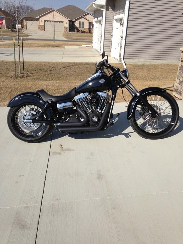2010 Harley-Davidson® FXDWG Dyna® Wide Glide® (Black ...