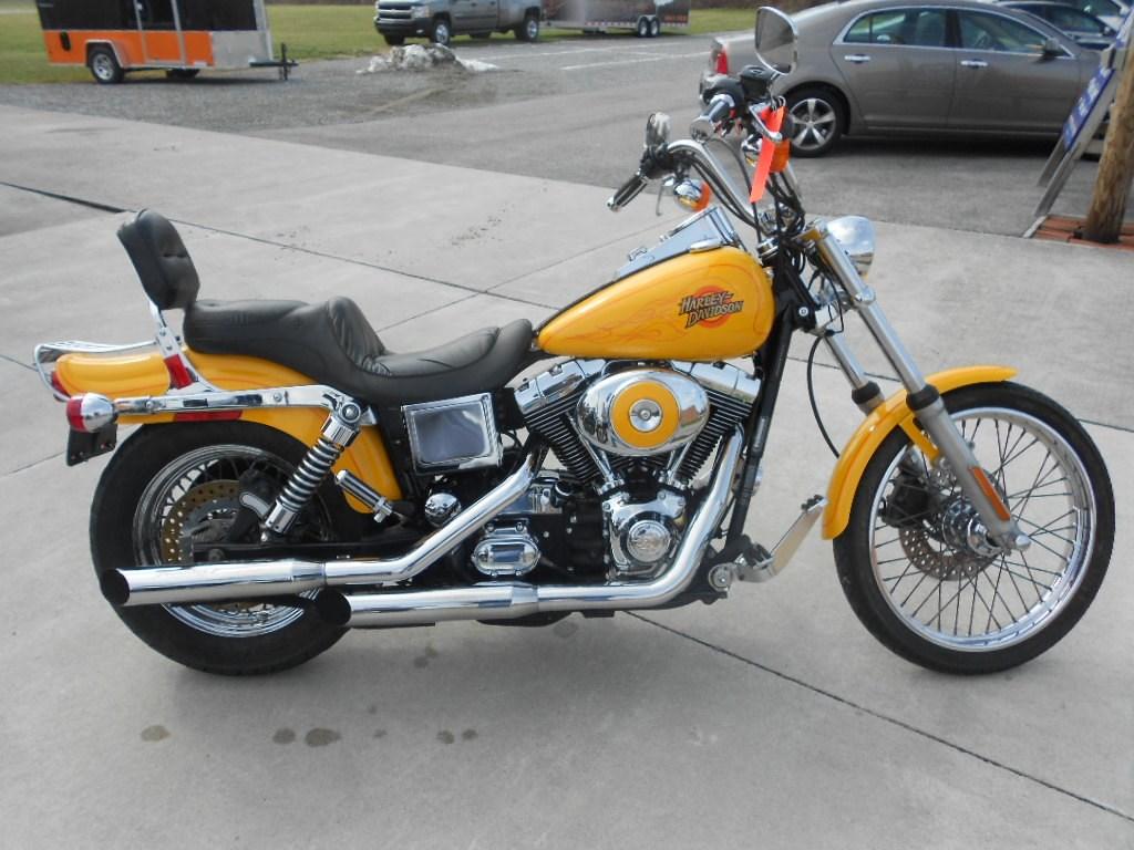 2001 Harley-Davidson® FXDWG Dyna Wide Glide® – $6400