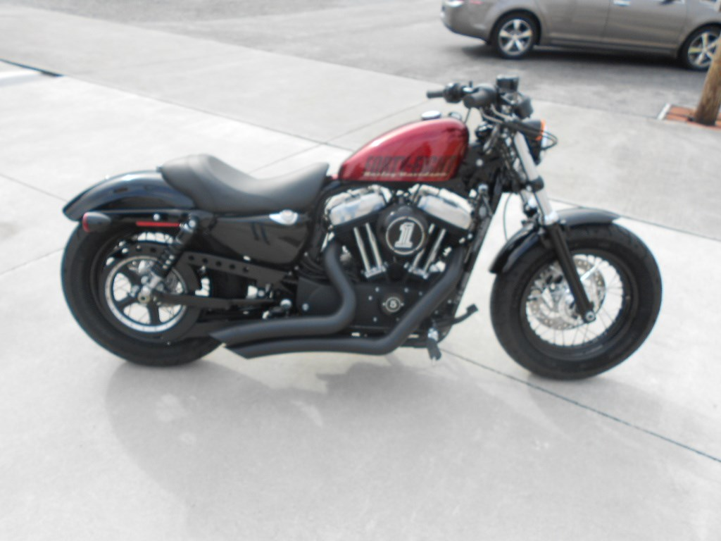 2015 Harley-Davidson® XL1200X Sportster® Forty-Eight® – $9800