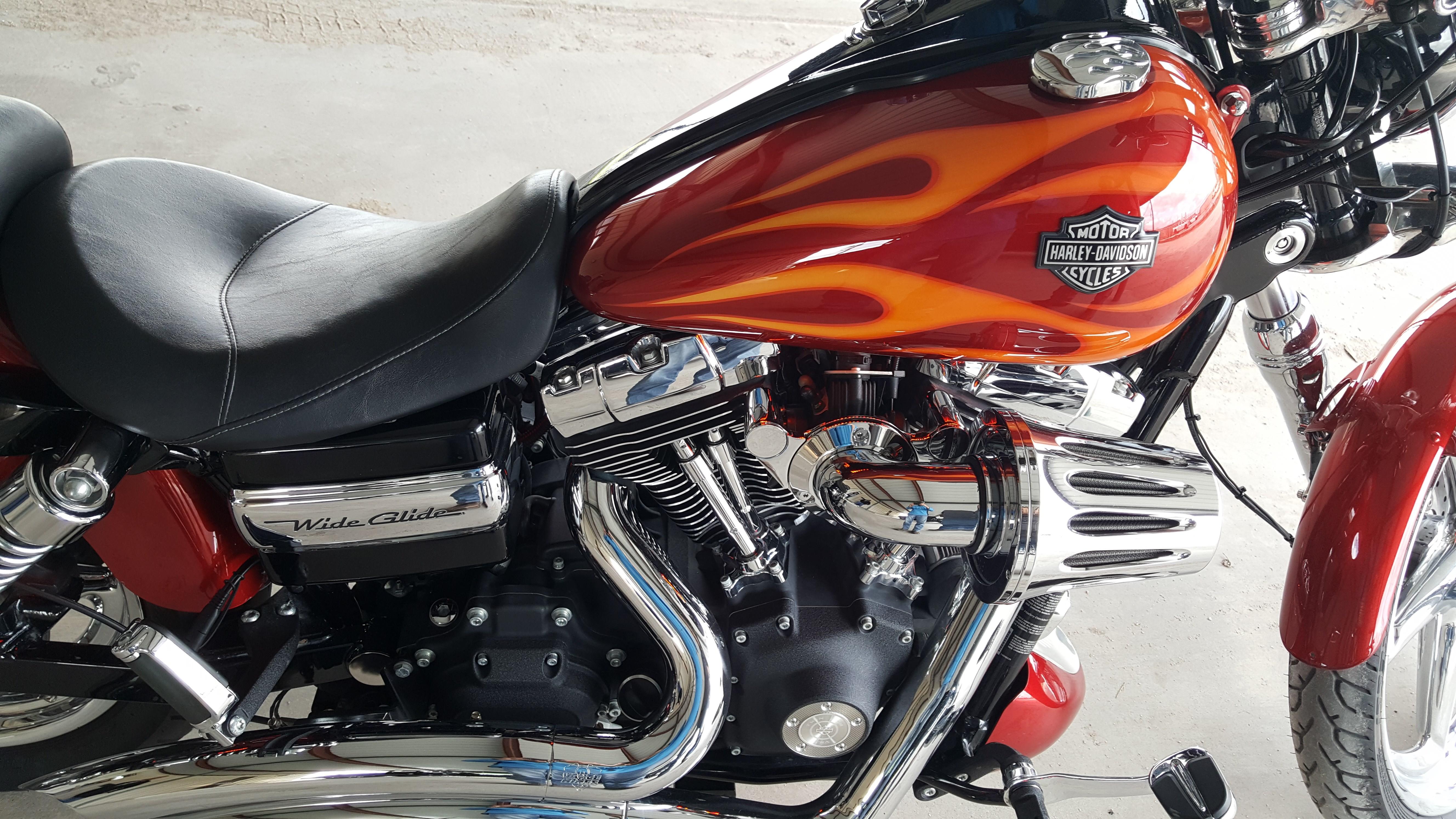 2017 Wide Glide For Sale Texas >> 2012 Harley-Davidson® FXDWG Dyna® Wide Glide® (Red/orange), Cypress, Texas (700864 ...