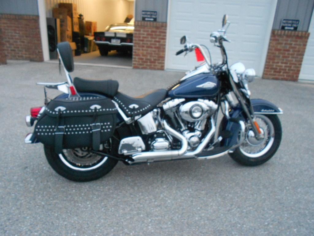 2012 Harley-Davidson® FLSTC Heritage Softail® Classic – $11900