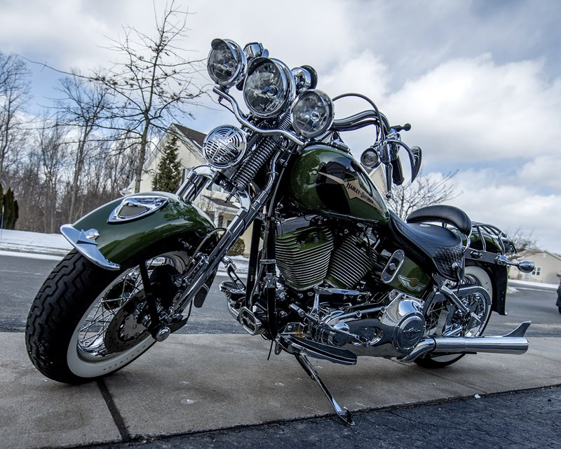 Photo of a 2003 Harley-Davidson® FLSTS/I Heritage Springer®