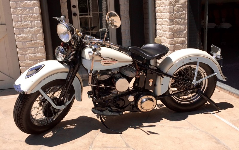 Photo of a 1942 Harley-Davidson® WLA Specialty Model