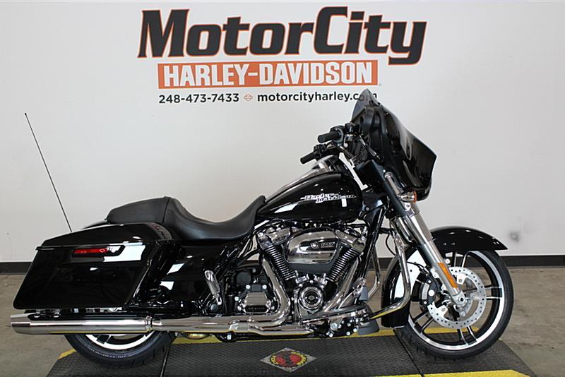 2017 Harley Davidson Flhx Street Glide Vivid Black