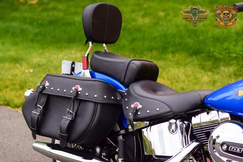 Softail Dealer Washington >> 2017 Harley-Davidson® FLSTC Heritage Softail® Classic (BONNEVILLE BLUE/FATHOM BLUE), Spokane ...