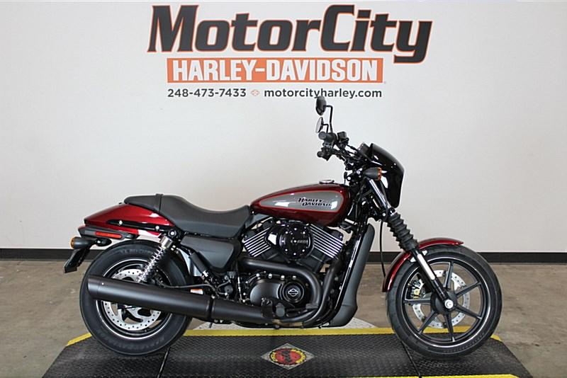 2017 Harley Davidson Xg750 Street 750 Velocity Red