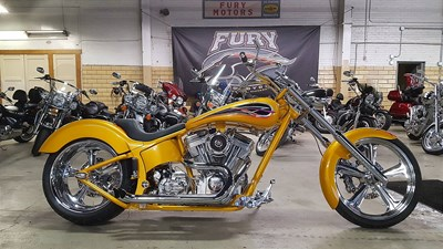 Used 2006 Covington Cycle City Custom Chopper