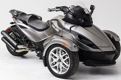Used 2013 Can-Am Spyder RS-S SE5