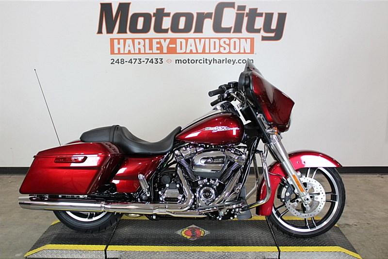 2017 Harley Davidson Flhx Street Glide Velocity Red