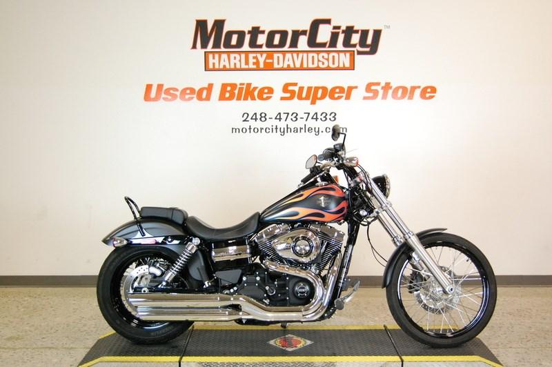 2015 Harley Davidson Fxdwg Dyna Wide Glide Black Denim