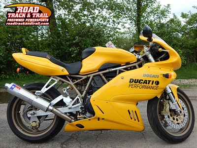 Used 1999 Ducati SSport w/Full Fairing