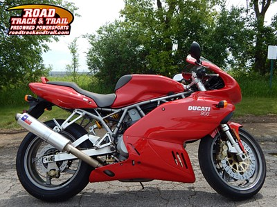 Used 2001 Ducati SSport w/Full Fairing