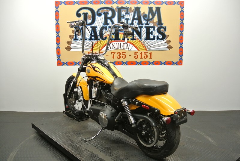 2017 Wide Glide For Sale Texas >> 2011 Harley-Davidson® FXDWG Dyna® Wide Glide® (CHROME YELLOW W/FLAMES), Round Rock, Texas ...