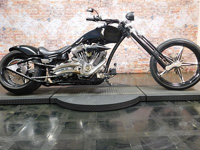 Used 2013 Hardcore Choppers Black Opts