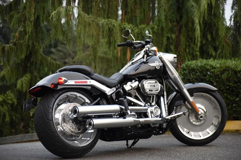 2017 Dyna For Sale Washington >> 2018 Harley-Davidson® FLFBS Softail® Fat Boy® 114 (Vivid Black), Lynnwood, Washington (754355 ...