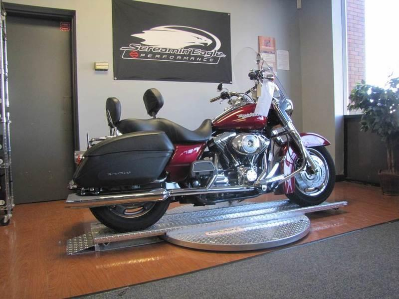 2004 Harley Davidson 174 Flhrs I Road King 174 Custom Lava Red