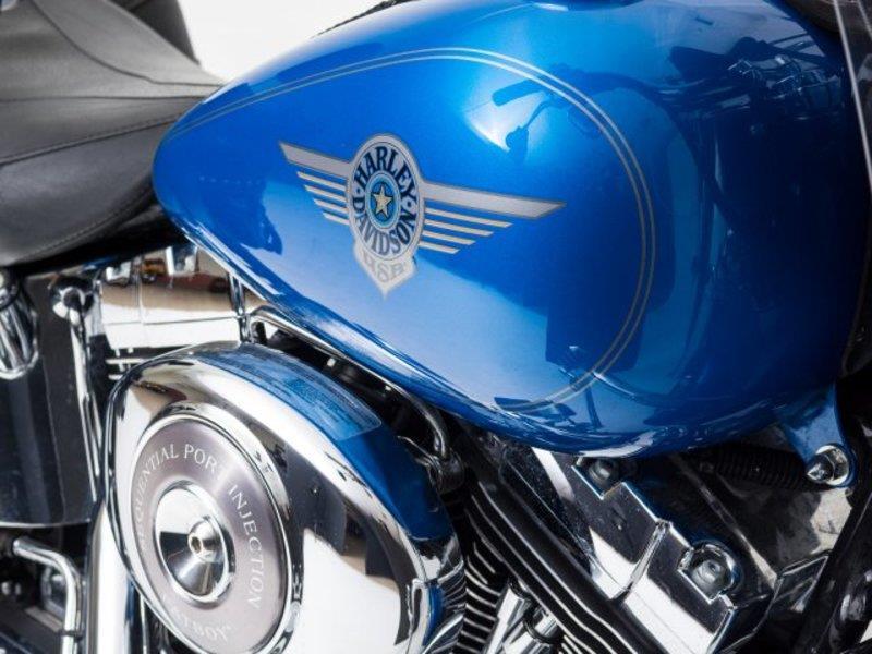 Softail Dealer Washington >> 2002 Harley-Davidson® FLSTF/I Softail® Fat Boy® (Impact Blue), Renton, Washington (717787 ...