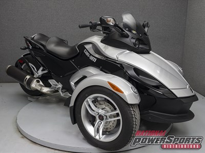 Used 2010 Can-Am Spyder RS-S