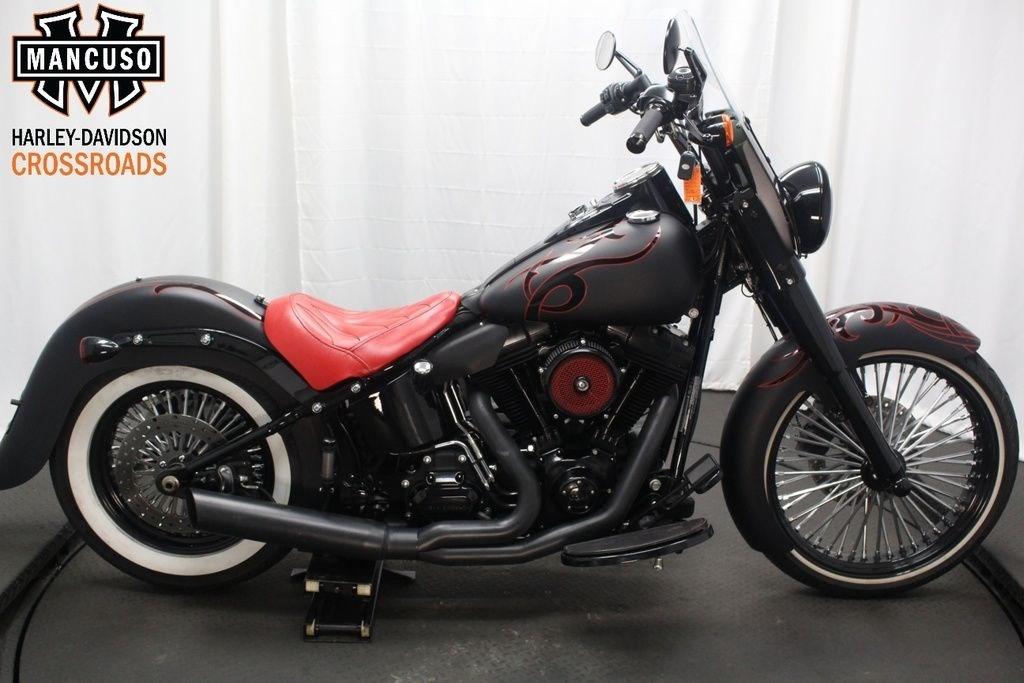 Harley-Davidson Softail Evo 1340 Cold Engine , New Sound