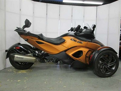 Used 2013 Can-Am Spyder RS