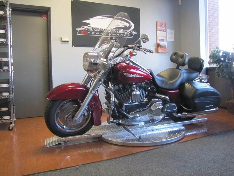 2004 Harley Davidson 174 Flhrs I Road King 174 Custom Lava Red