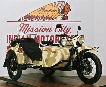 Used 2011 Ural Gear-Up w/ Sidecar