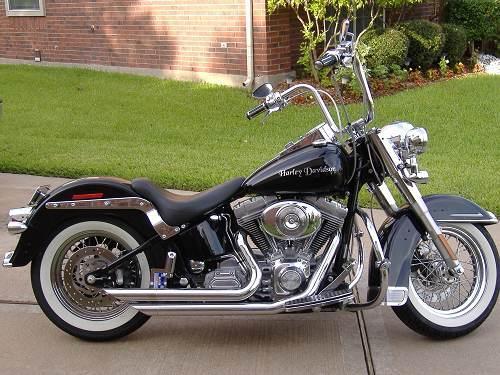 Harley Davidson Chico Ca >> 2006 Harley-Davidson® FLST/I Heritage Softail® (Vivid Black), HOUSTON, Texas (57251 ...