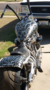 Used 2005 Bourget Bike Works Python Chopper
