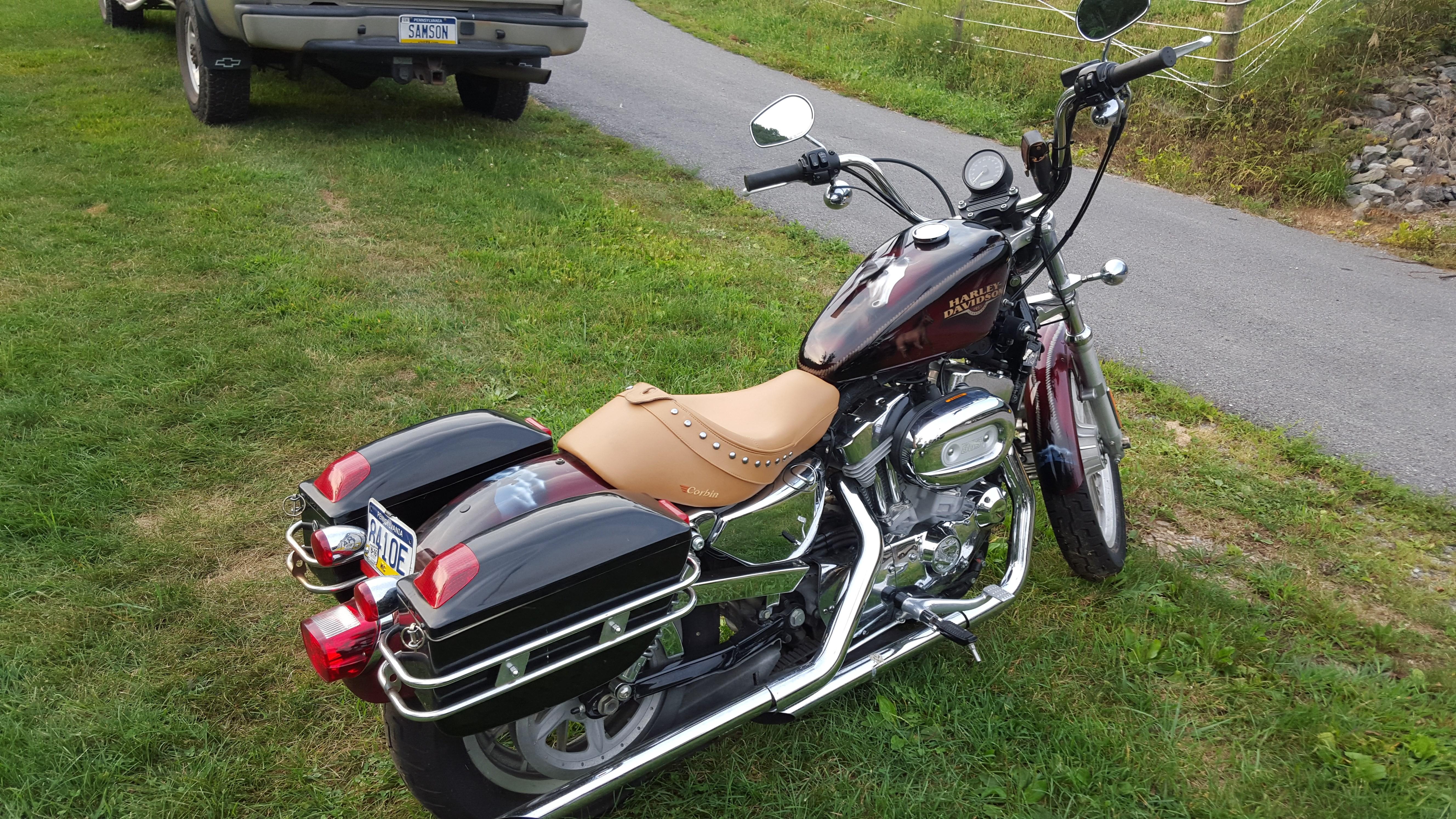 Brakes Plus Omaha Ne >> 2008 Harley-Davidson® XL883L Sportster® 883 Low (Custom Paint- Amazing Horses/Western Theme ...
