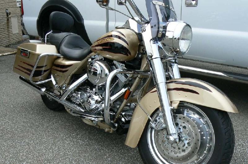Cvo For Sale Pennsylvania >> 2003 Harley-Davidson® FLHRSEI2 Screamin' Eagle® Road King® (Centennial Gold / Vivid Black), Erie ...