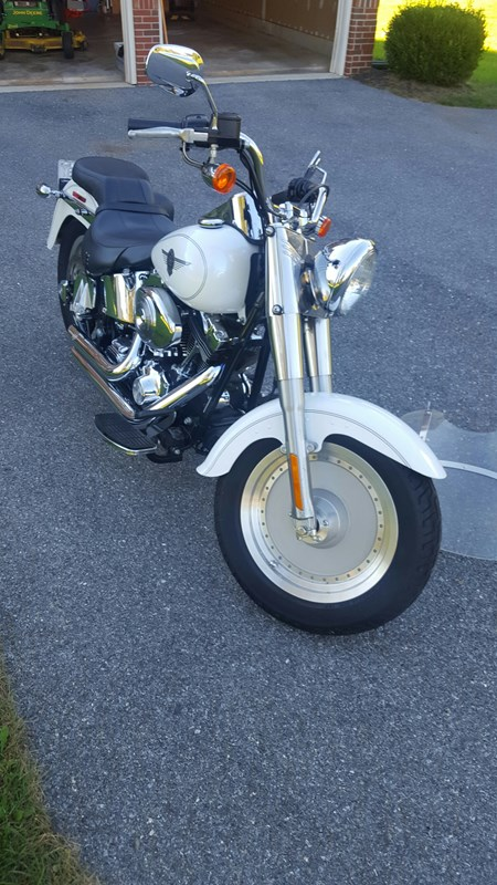 Photo of a 2004 Harley-Davidson® FLSTF/I Softail® Fat Boy®