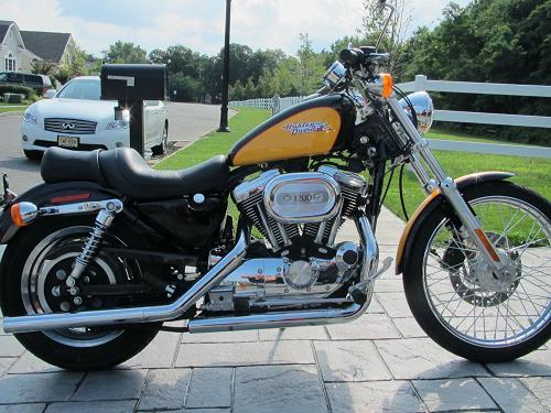 Motorcycle Dealers In Ma >> 2000 Harley-Davidson® XL1200C Sportster® 1200 Custom (Yellow / black), Oceanport, New Jersey ...