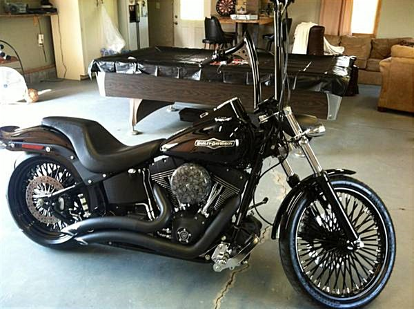 2006 Harley Davidson 174 Fxstb I Softail 174 Night Train 174 Vivid