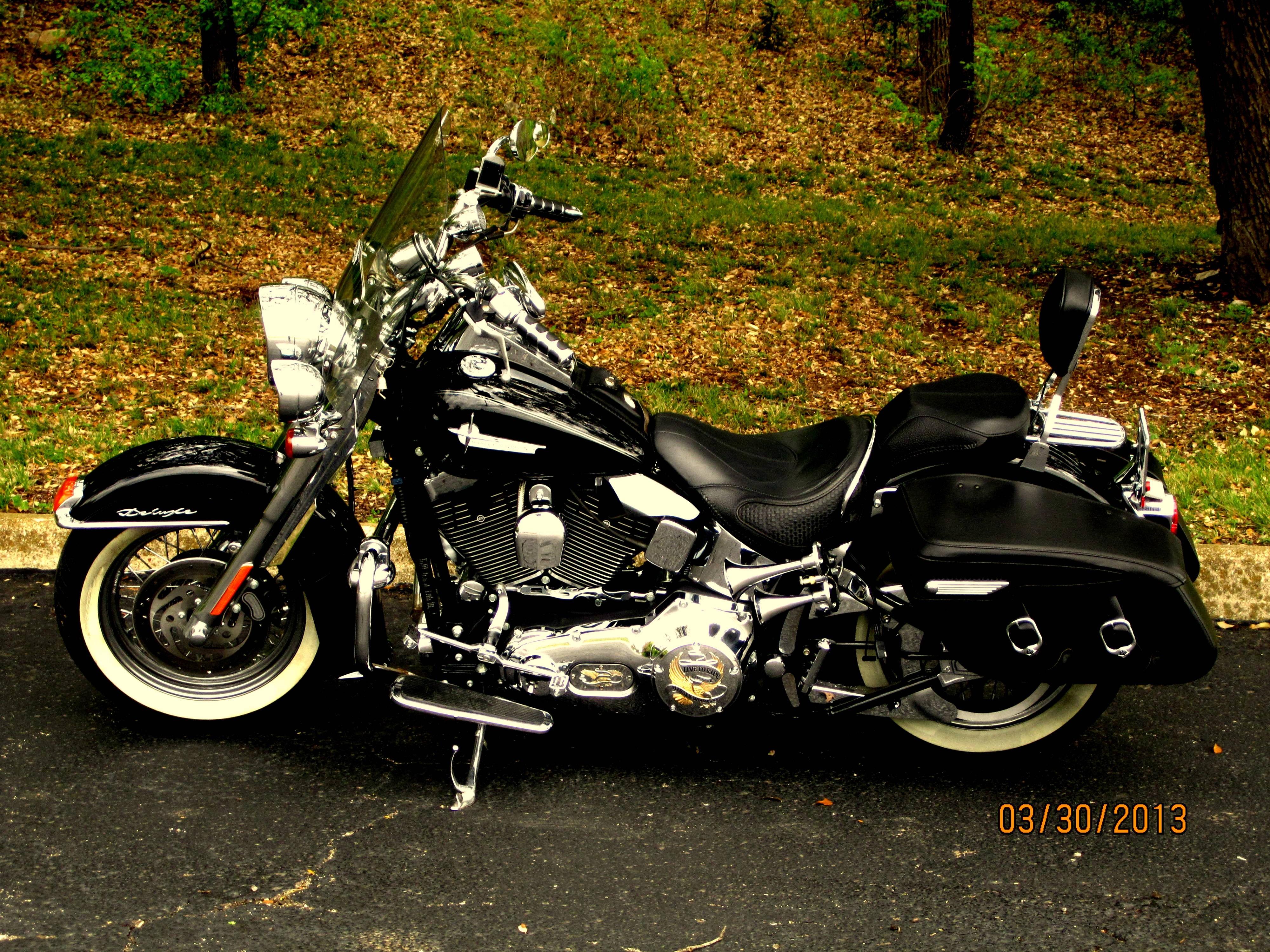 2006 Harley-Davidson® FLSTN/I Softail® Deluxe (black ...