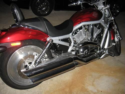 Engine Break In Oil >> 2003 Harley-Davidson® VRSCA V-Rod® (Red Ghost Flames ...