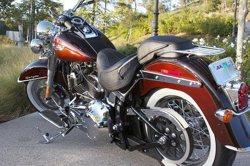 2011 Harley Davidson 174 Flstn Softail 174 Deluxe Root Beer