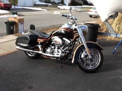 Used 2008 Harley-Davidson® Screamin' Eagle® Road King Anniversary
