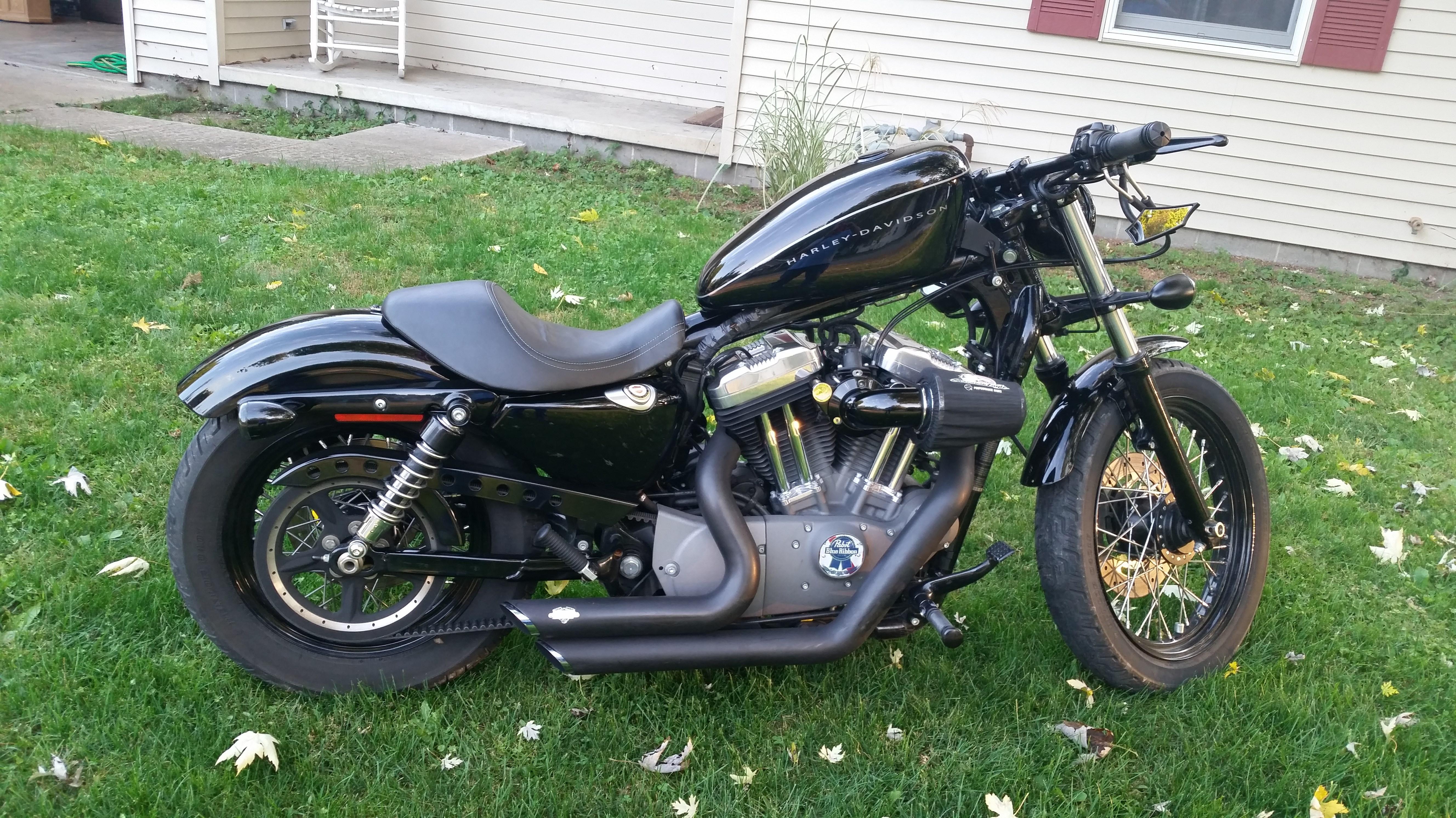 Allstate Motorcycle Insurance >> 2008 Harley-Davidson® XL1200N Sportster® 1200 Nightster ...