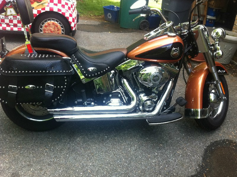 2008 Harley Davidson 174 Flstc Anv Heritage Softail 174 Classic