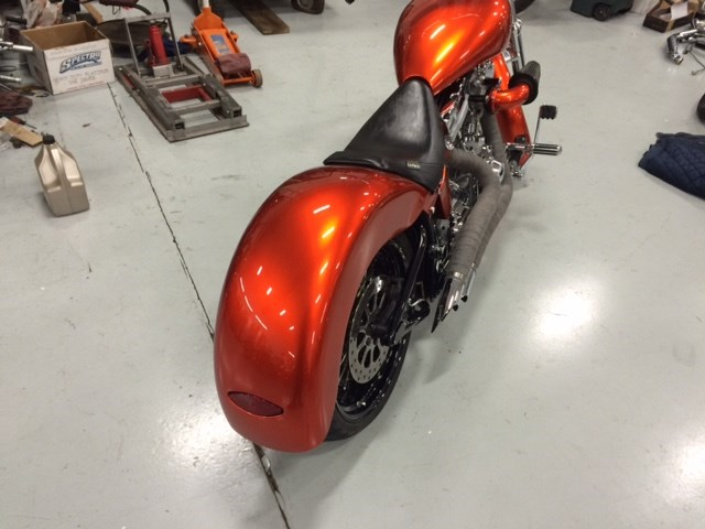 2002 Harley Davidson 174 Custom Burnt Orange Gambrills