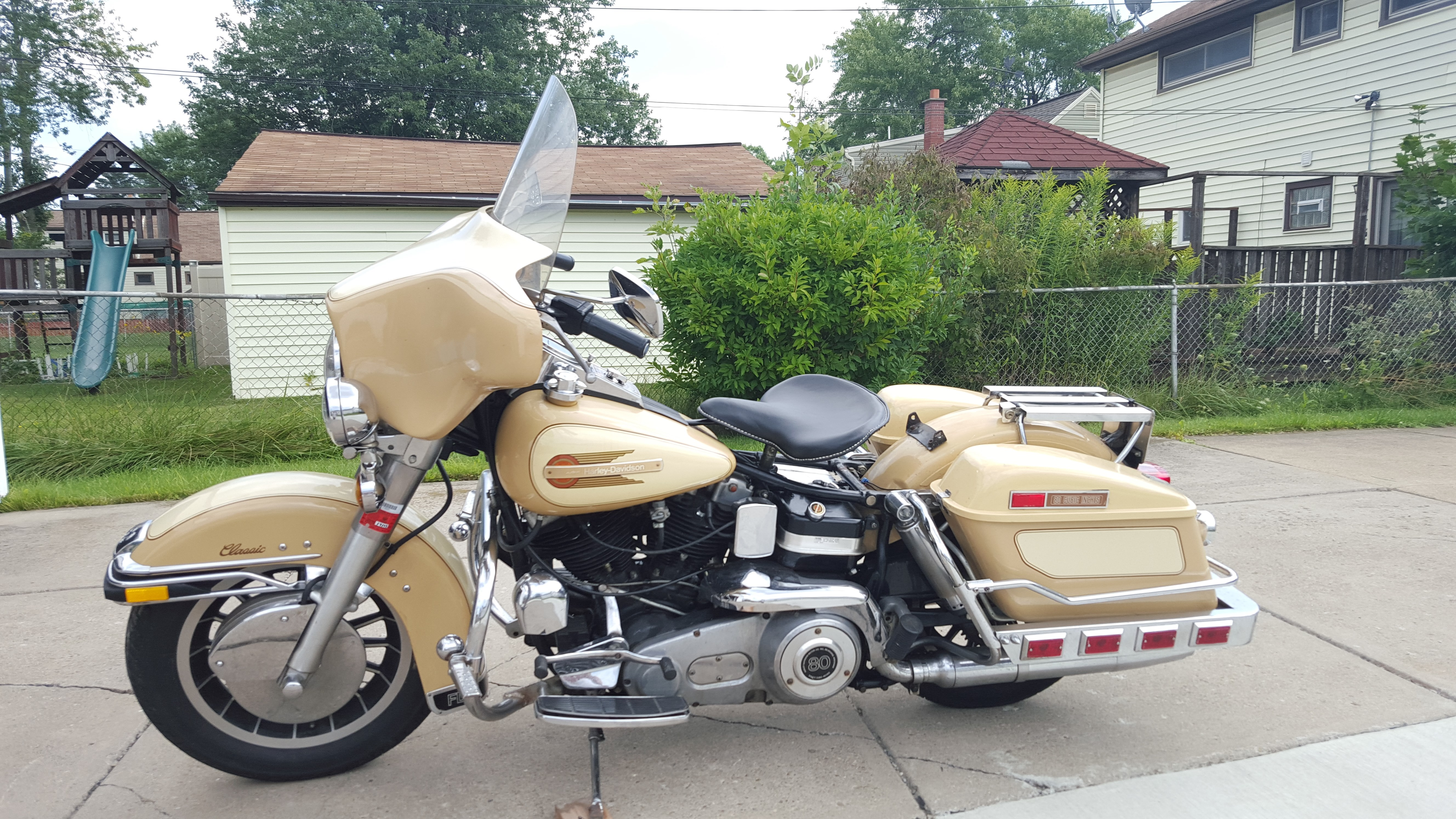 1979 Harley-Davidson® FLHC Electra Glide® Classic (Tan ...