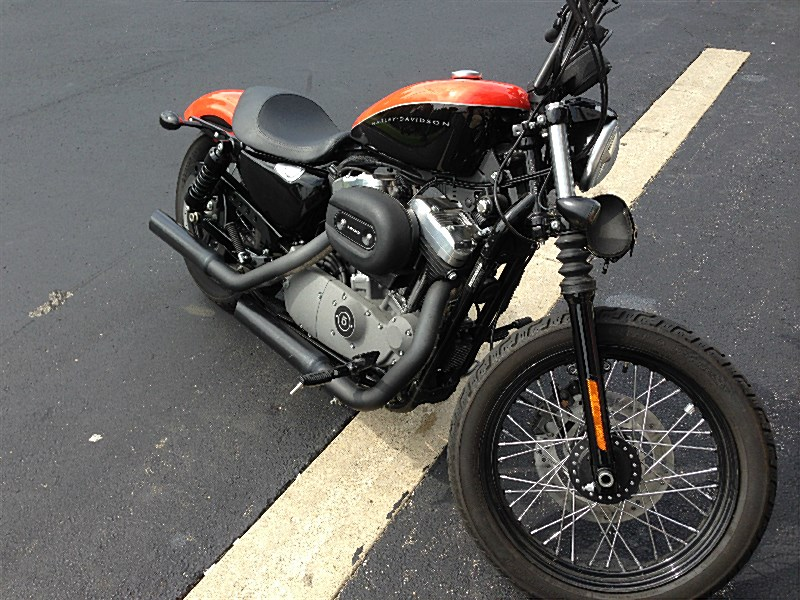 Photo Of A 2008 Harley DavidsonR XL1200N SportsterR 1200 NightsterR