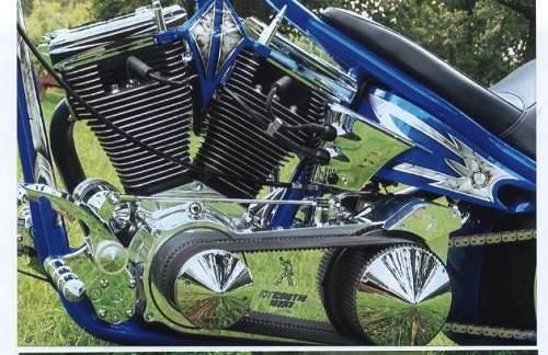 2008 Harley-Davidson® FXSTC Softail® Custom (Candy Blue ...